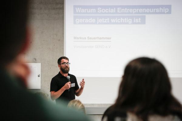 """Markus Sauerhammer: """"Warum Social Entrepreneurship gerade jetzt wichtig ist"""""""